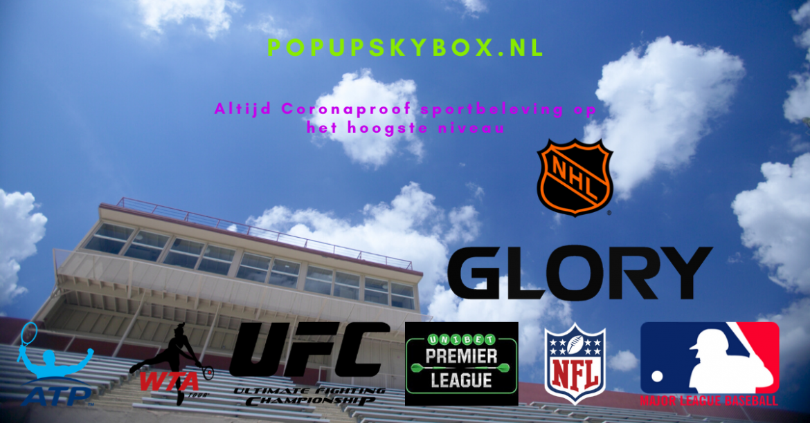 Popup Skybox is Coronaproof sportbeleving